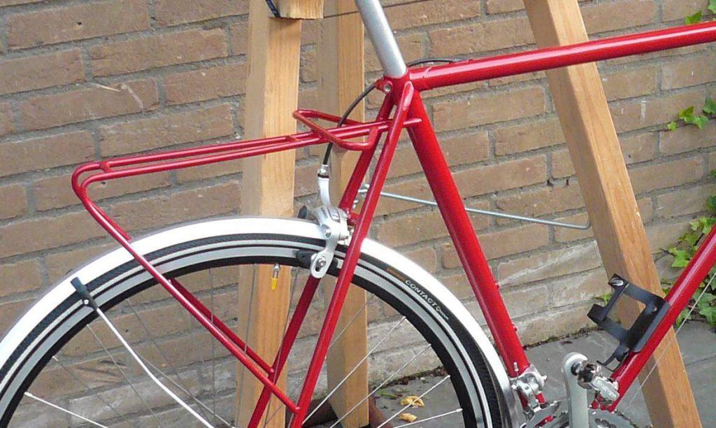 solderen bagagedrager fiets